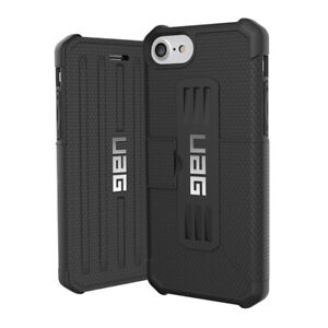Urban Armor Gear (UAG) Metropolis Folio Case for Apple iPhone 8 / 7 / 6S - Black