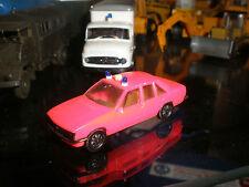 Herpa # Opel Rekord Berlina 2.0 # Feuerwehr # Vitrinenmodell  # 1:87 # gesupert