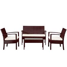 Garten-Tische & Bank-Sets aus Kunststoff mit bis zu 4 Sitzplätzen