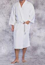 Turkish 100% Cotton Premium Robe Luxury Terry Bathrobe Kimono Women Men Long
