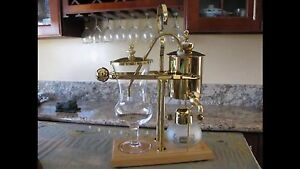 Vacuum Syphon CoffeeMaker (Belgian Royal Coffee Maker)
