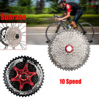 Sunrace 10 Speed MTB Road Bike Cassette Bicycle Cassettes fit Shimano SRAM