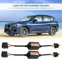 2pcs H4 Car LED Scheinwerfer Decoder Canbus Fehler freien Widerstand Canceller