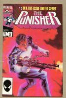 Punisher #5-1986 fn- 5.5 5th issue of the 1st series Mike Zeck Steven Grant
