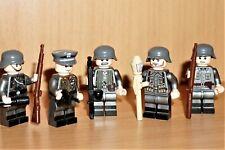WW2 Deutsche Soldaten mit Mannschaftsschlauchboot Lego kompatibel
