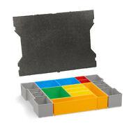 Bosch Sortimo Insetboxen-Set H3 + Deckelpolster für L-Boxx G4