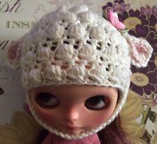 Blythe Hat/Handmade Crocheted Hat/Lamb Hat/Beanie For Blythe Dolls