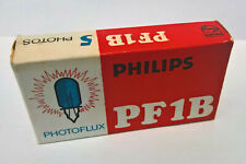NOS Philips Photoflux PF1B flash bulb for flashguns / Lámparas de flash Nuevas