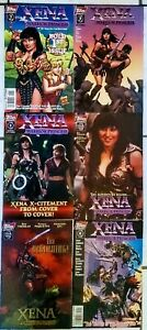 XENA WARRIOR PRINCESS #1s HTFs and just plain impossible to find ...all in NM