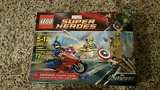 LEGO 6865 CAPTAIN AMERICA'S AVENGING CYCLE NEW IN  BOX