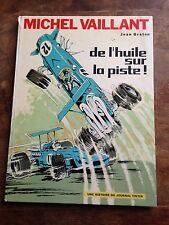 de l'huile sur la piste EO (1970) par jean graton histoire du journal tintin