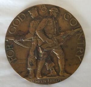AMERICAN LEGION SCHOLARSHIP AWARD - SEMPER FIDELIS - USMC -  Medal Medallion