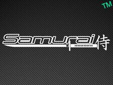 Samurai (Style 2) Car Sticker Vinyl Decal JDM Skyline Evo Scooby Nissan Drift