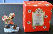 New in Box Enesco Mickey&Co Series My Lovin' Honey Man Mickey w Flowers Figurine