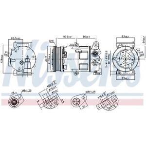 Nissens Klimakompressor Kompressor Klima 890418