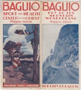 1930s BAGUIO US-Philippines Tourist Association Brochure