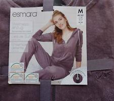 Damen Nickianzug Homewear Nicki Wellnessanzug Jacke & Hose M 40/42 Lila Violett