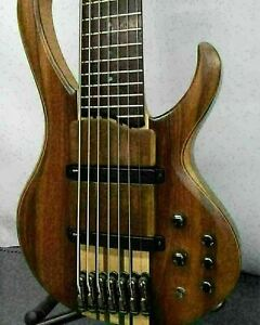 IBANEZ BTB7-NTF Used 7 string bass Walnut / maple body Built-in two truss rods