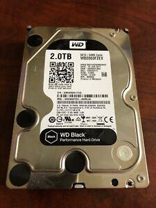 """Western Digital Black HDD WD2003FZEX 2TB w/ 64MB Cache 6Gb/s 72000rpm 3.5"""""""