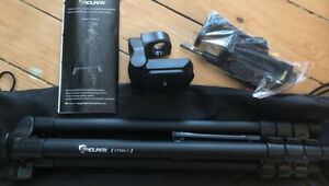 Endurax 60'' ETR60-C Camera Phone Tripod Stand for DSLR Canon Nikon