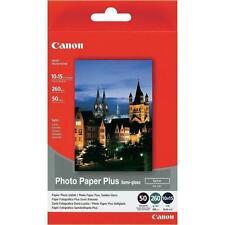 4 Confezioni 50 fogli carta fotografica semi lucida Canon 10X15 +20 fogli
