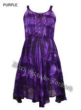 Jordash viola stile hippy / boho Mini Dress Summer Party Tie Dye 12/14