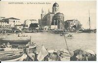 CPA 83 - SAINT-RAPHAEL - Le port et la Nouvelle Eglise