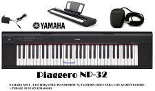 Yamaha Np32 Black Tastiera portatile 76 Tasti Nera