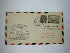 Canada First Day Cover, C3, Wadhope to Bissett