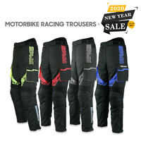 Men Motorbike Cordura Trouser Waterproof Motorcycle Textile Trouser Pant Armour