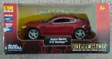 DIECAST MODEL CAR 1:38 COLLECTION ASTON MARTIN VANTAGE V 12 RED WELLY