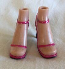 Bratz Doll Clothes / Shoes - Pink Strap Heels Dress Shoes