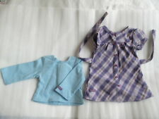 New American Girl -  Pretty & Plaid Dress for Doll Size