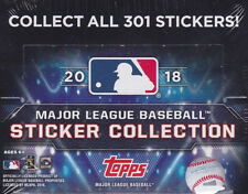 2018 Topps MLB Stickers – Pick any 4 - Free Shipping - Yankees, Red Sox, Cubs