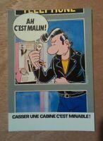 carte postale Franck Margerin Pub Telecom