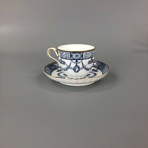 A late 19thc. (c.1895) Wedgwood cup and saucer in pattern y443