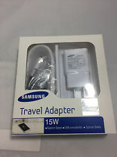 Samsung Fast Adaptive 15W Combo Charger Wall Adapter & Micro USB Cable - Retail