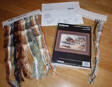 "Janlynn village de pêche Cross Stitch Kit - 12"" X 8 #102-05"""