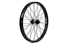 "MISSION BRIGADE 36H--3/8"" AXLE--20"" X 1.75"" BLACK BMX BICYCLE FRONT WHEEL"