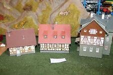 Modelleisenbahn Spur HO Vollmer ect div. Fachwerkhäuser  # 131 ect. f.Märklin