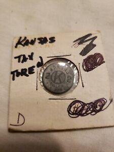 Vintage Old Antique Kansas State Sales Tax Token Coin KS 2 Mill