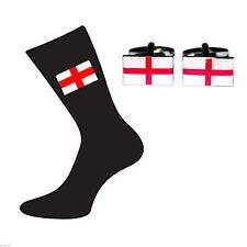 Anglais George Cross Boutons de manchette et chaussettes Ensemble Cadeau Drapeau X6S001-x 2 produits 009