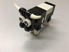 Lego Kuh, Tier, Tiere, animals, Bauernhof Zubehör City System Eigenbau