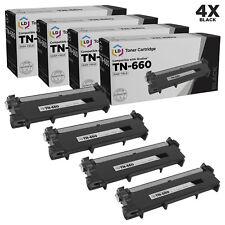 LD Comp Brother TN660 4pk HY Black L2520 L2540 L2300D L2320D L2700 L2720