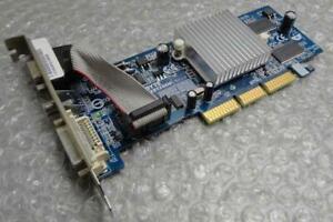 128MB Gigabyte GV-R925128DE REV:1.0 Radeon 9250 VGA / DVI AGP Graphics Card