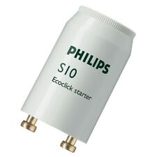 Philips S10 Tubo De Luz Fluorescente Bombillas Arrancadores Interruptor de arranque 4 W -65 W