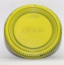 Used Nikon BF-1A  Camera Body Cap Made in Japan Painted Yellow