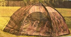TEXSPORT HIDE-A-WAY CAMO HEXAGON DOME TENT 3 PERSON. SEE PHOTO FOR INFOMATION. @