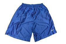 Nike Shorts Gr. XL Hose Basketball Sporthose Swoosh Blau Dri-Fit  WS1