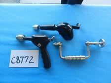 Sklar Zimmer Hall Codman Surgical Orthopedic Hand Drills Lot Of 3